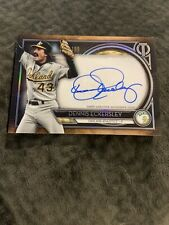 2020 Tribute Auto Blue #TA-DE Dennis Eckersley Oakland Athletics Sp # 112/199