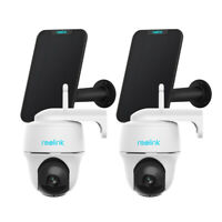 Reolink Outdoor 1080P Pan Tilt Wireless Battery Powered Camera With Solar Panel