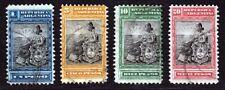 Argentina 1899-1903 Liberty High Values 1p-20p Used. Scott 139-142