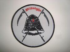 MIDNIGHT - LOGO Embroidered PATCH Cruel Force Deathhammer Speedwolf Nifelheim