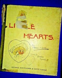 LITTLE HEARTS by Florence K. Upton 1897  Very Rare Highly Collectable