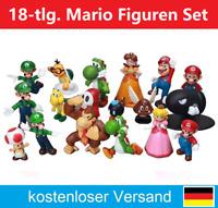 18x Super Mario Figuren Sammelfiguren Super Bros. Yoshi Donkey Kong Figur Neu