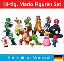 18x Super Mario Figuren Sammelfiguren Super Bros. Yoshi Donkey Kong 18 Stück Neu