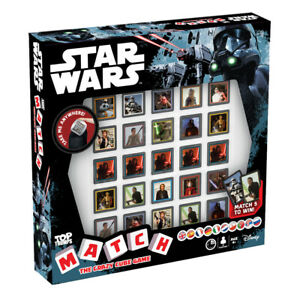 Top Trumps Star Wars Match Board Game NEW