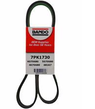 BANDO 7PK1730 OEM Serpentine Belt Fits HONDA CRV 2002-2006, ACURA RSX 2002-2006