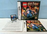 LEGO Harry Potter: Years 5-7 (Nintendo DS, 2011) with Manual & Insert - Tested