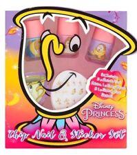 Disney Princess Beauty And The Beast Chip Nail & Sticker Set