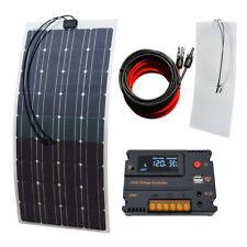 100W flexible solar panel kit 10A Intelligent Regulator for RV Car Caravan Home