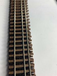 Micro Engineering HO HOn3 Railcraft Code 55 dual gauge track bundle LOT x6 B33