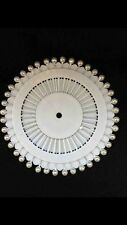 Pearl Hijab Pins Costume Scarf Safety Tailor Sewing Pin Wheel White