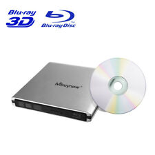 External Blu-Ray Disc Player Burner DVD CD RW USB3.0 Slot Drive for Macbook Pro