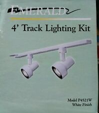 Emerald 4' Track Lighting Kit P4521W, white - Accent, Wall, General lighting