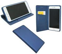Iphone 7 // Brieftasche Zubehör vertikal seitliche Tasche Smart Bumper in Blau