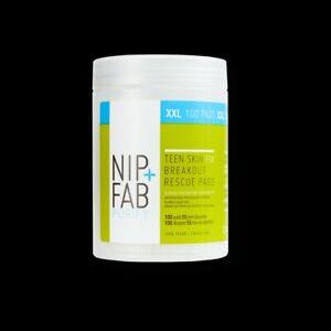 NIP+FAB Teen Skin Fix Breakout Rescue Cleansing Pads XXL