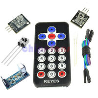 1/2PCS VS1838B TL1838 IR Receiver Remote Control VS1838 HX1838 Kit for Arduino