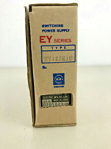 Shindengen EY122R1U 12V 2.1A  EY Series 25W Switching Power Supply, Enclosed NEW