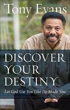 DISCOVER YOUR DESTINY - EVANS, TONY - NEW PAPERBACK BOOK