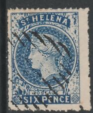 St Helena 6789 - PERKINS BACON 6d blue forgery by SPIRO - West type 1