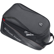 """NEW 2018"" WILSON STAFF VENTILATED GREY & BLACK GOLF SHOE / BOOT / TOTE BAG"