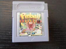 NINTENDO GAME BOY PINBALL MANIA VIDEO GAME CARTRIDGE GIOCO VIDEO VINTAGE ARCADE