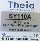 Theia SY110A CCTV 1.67mm f/1.8 3 Mp Ultra-Wide Day/Night DC Auto Iris Lens