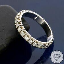 Wert 2.370,- Exzellenter Brillant Memory Ring 585 / 14 Karat Gold 1,00 Ct xxyy