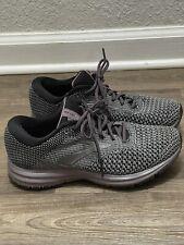 Brooks Womens Revel 2 Black/Grey/Arctic Dusk Running Shoes Size 7