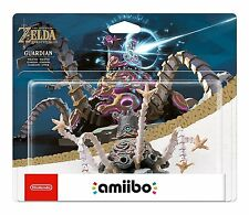 AMIIBO NINTENDO SWITCH  The Legend of ZELDA BREATH OF THE WILD   GUARDIAN   New