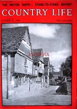 1948 'A CORNER OF LACOCK, WILTSHIRE'#2 - Country Life Cover Photo Print