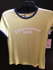 JUICY COUTURE, A beautiful New with tags Ladies/Girls Summer Tee, size S