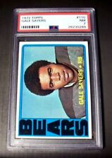 1972 Topps #110 Gale Sayers HOF CHICAGO SAYERS PSA 7 NM TERRIFIC!