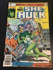 Savage She-hulk#2 Excellent Conditon 4.5(1980) Buscema Cover!!