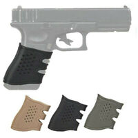Pistol Rubber Grip Cover Anti-Slip Glove for Glock 17 19 20 21 22 23 31 32 34 38