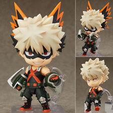 US Nendoroid 705 Anime My Hero Academia Bakugou Katsuki PVC Figure Toy Xmas Gift
