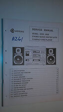 Samsung scm-6800 service manual original repair book stereo cd record player