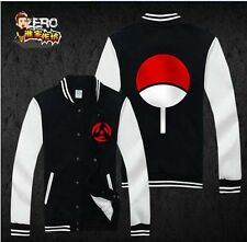 HOT  NARUTO Uchiha Sasuke Sharingan Unisex Sweatshirt Hoodie Winter jacket coat