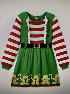 Girls' Christmas Cosplay Sweater Dress Size Small (6-6X) ~ NWT