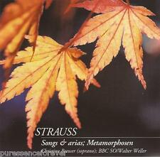 RICHARD STRAUSS - Songs & Arias/Metamorphosen (UK CD Album) (BBC Music Magazine)