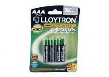 Lloytron B014 4 X Nimh accuultra Recargable De Alta Capacidad Pilas Aaa 900mah