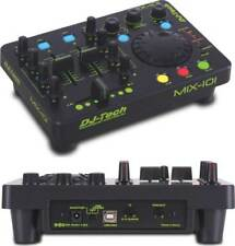 DJ-Tech MIX101 USB MIDI CONTROLLER& DECKADANCE