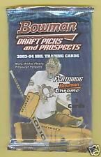 2003-04 Bowman Hockey Draft Picks and Prospects Pack