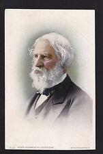 c1907 portrait poet Henry Wadsworth Longfellow writer postcard