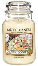 YANKEE CANDLE CHRISTMAS COOKIE JAR 22 OZ