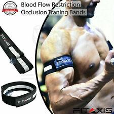 2Pcs Occlusion Training Bands Wraps Blood Flow Restriction Fitness Arm Straps