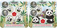Sierra Leone Panda Animals Fauna China Stamp Expo 2016 MNH stamps set 2 sheets