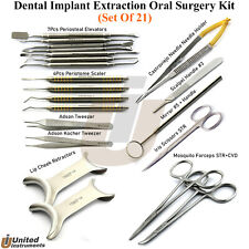 Dental Implant Atraumatic Tooth Extraction Tools Kit Microsurgery Instruments