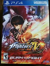 King of Fighters XIV 14 Burn to Fight Premium PS4 Playstation 4 - NEW & SEALED