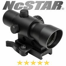 NcSTAR Mark III Tactical Red Dot LED 3 MOA Optic QR Weaver Picatinny Mount Cover