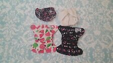 Newborn Cloth Diapers-Girl-Swim-Cover-Pockets