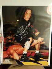 WCW BRET HITMAN HART SIGNED AUTOGRAPHED 8 X 10 WRESTLING PHOTO WWF
